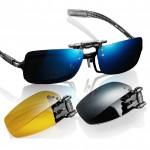 Polarized Sunglasses Roodoon Clip Sun Glasses Night Vision Sunglasses