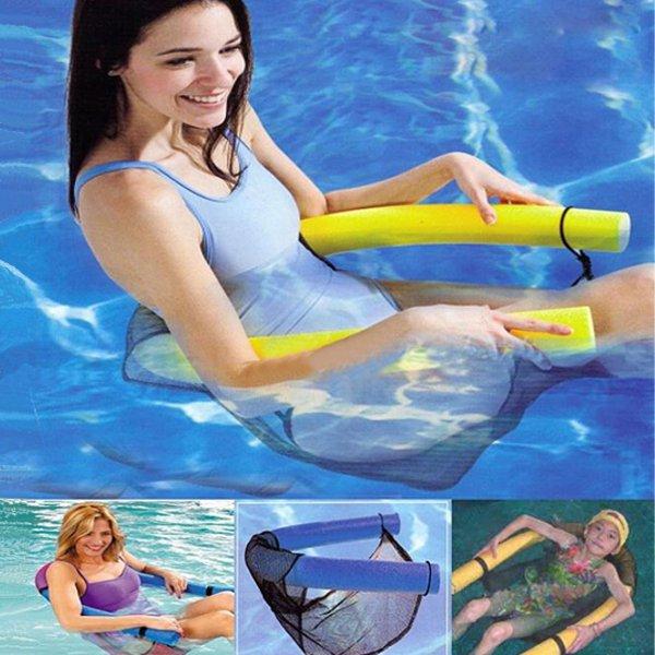 Pool Noodle Stol Vatten Flytande för Vuxna Barn Vattensport