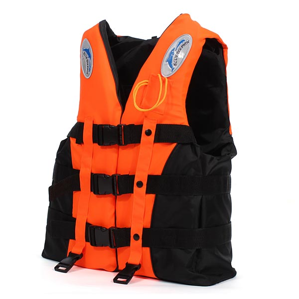 Professional Adult Kid Life Jacket Survival Suit Fishing Jacket Water Sports