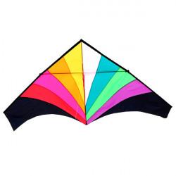 Rainbow Triangle Kite 1,8 Meter Easy Flying