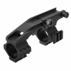 "Rifle Taktisk Flat Top Heavy Duty 1 "" Cantilever Mount Black"