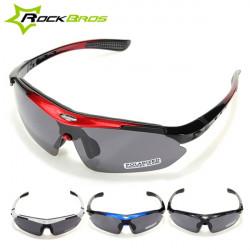 RockBros polarisierte Radfahren Fahrrad Sonnenbrille Glas Schutzbrillen