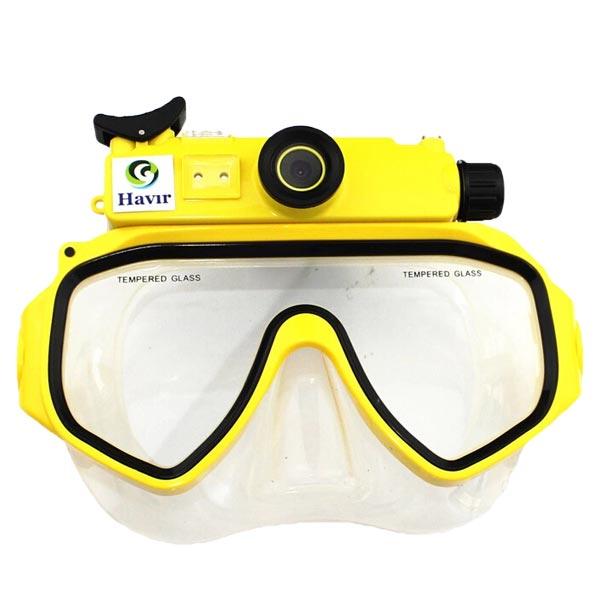 Scuba Series 720P Vandtæt Digital Dykning Kamera Mask Underwater Vandsport