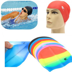 Silicone Swimming Cap Durable Flexible Waterproof Bathing Hat