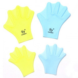 Silicone Swimming Gloves Webbed Gloves Surfing Diving Paddle Gloves