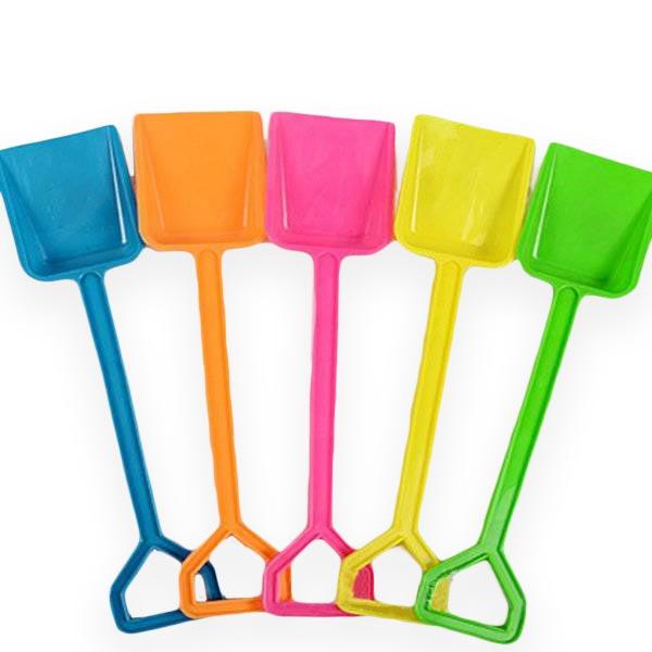 Snow Toys Shovel Children's Beach Toys Colored Plastic Shovel Outdoor Recreation