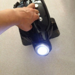 Solo Wheel Electric Unicycle Front Light Torch Lamp With Sticker Outdoor Recreation