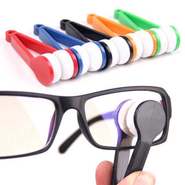 Sonnenbrille Glas Brillen Microfaser Bürsten Reinigungsmittel Werkzeug Sonnenbrille