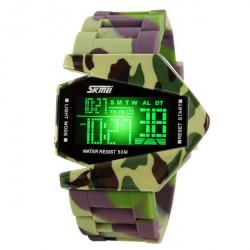 Super Cool Digital Uhr wasserdichte Uhr Wasser Sport Uhr LED