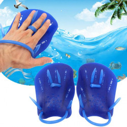 Swimming Gloves Hand Webbed Paddle Swimming Frog Palm Training