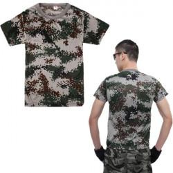 Taktisk Militär Kamouflage Kortärmad T-tröja