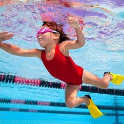 Småbarn Läs Swimmingpool Kid Barn Justerbara Flippers Fin