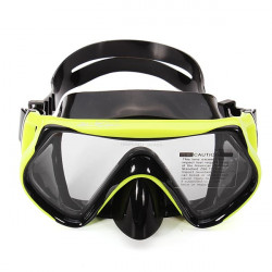 Toughened Glass Diving Swimming Goggles Mask