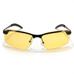 UV400 Mens Cycling Driving Polarized Night Vision Glasses Sunglasses