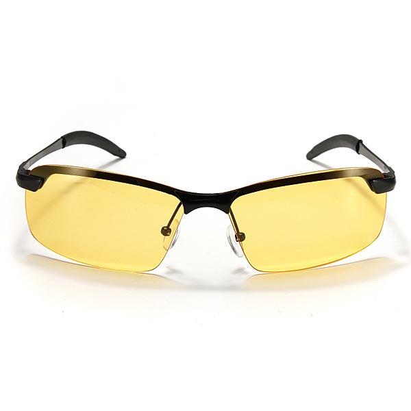 UV400 Mens Cycling Driving Polarized Night Vision Glasses Sunglasses Sunglasses