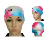 Waterproof High Elastic Silicon Swimming Cap Swimming Hat For Adult Water Sports