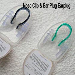 Wasserdicht Silikon Schwimmen Ausrüstung Nasenklemme + Schwimmen Ohrstöpsel