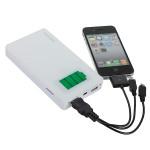 12000mAh Dual USB Extern Strömkälla Laddare för iMobil Smartphone-enhet Surfplatta Tillbehör