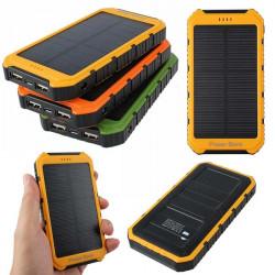 20000mAh Dual USB Portable External Solar Battery Charger Power Bank