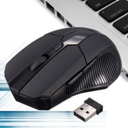 2,4 GHz Trådlös Optisk Mus + USB 2.0-Mottagare för Surfplatta Laptop