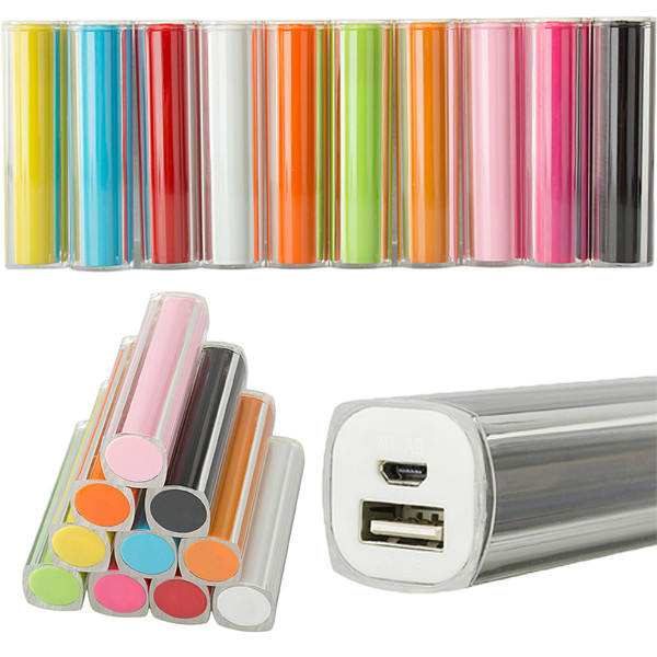 2600mAh Portable External Battery PowerBank för Surfplatta Mobiltelefon Surfplatta Tillbehör