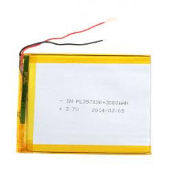 3000mAh 3.7V Genopladeligt Lithium Batteri til Tablet