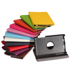 360 Degree Rotating PU Leather Case Cover Skin For Google Nexus 7 1st