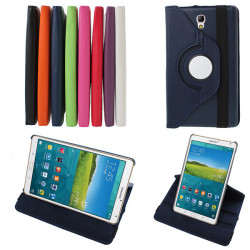 360 Degree Rotating PU Leather Case For Samsung Galaxy Tab S T700