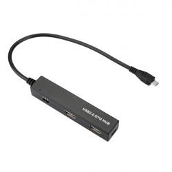 4 Port Micro USB OTG Laddare HUB Kabel för Surfplatta Phone