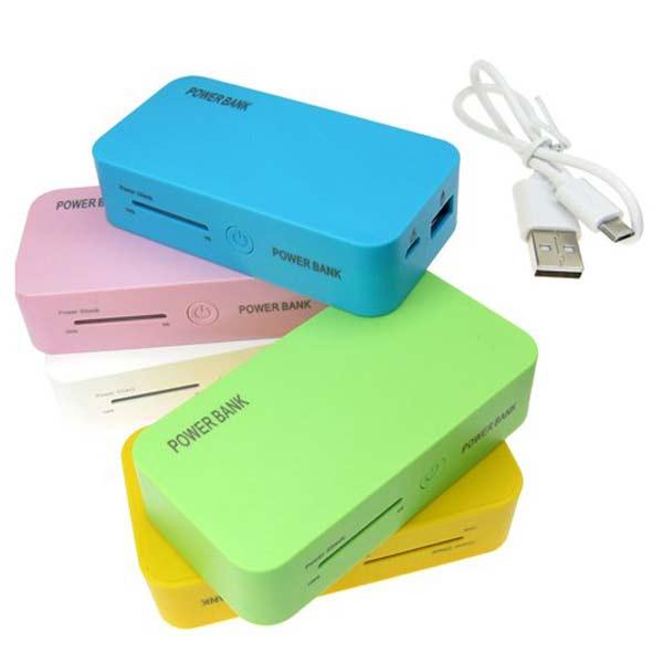5200mAh LED Externt Batteri PowerBank Laddare för iMobil Mobiltelefon Surfplatta Tillbehör