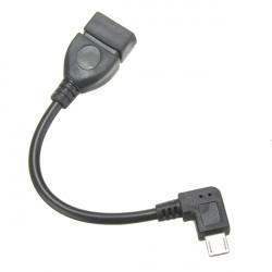 90 Grader Micro USB OTG Kabel för Surfplatta Mobiltelefon