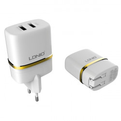 DL-AC52 USB EU Chareger 5V 2.4A USB Wall Charger For Tablet Phones