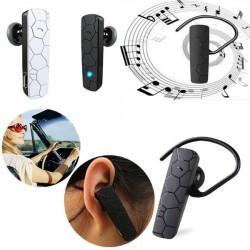 Trådlös Hörsnäcka Bluetooth Headset Stereo för Surfplatta Mobil