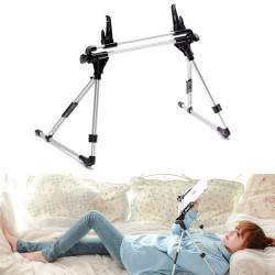 Sammenklappelig Seng Desk Floor Tablet PC Mount Stativ Holder til Tablet