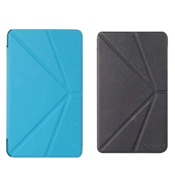 Folde Stativ Folio PU Læder Cover til Colorfly i977A 3G Tablet Tilbehør