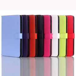 Folding Stand PU Leather Case Cover For Samsung Galaxy Tab4 T330