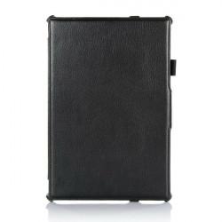Falte Standplatz PU Leder Kasten Abdeckung für Sony Z2 Tablet