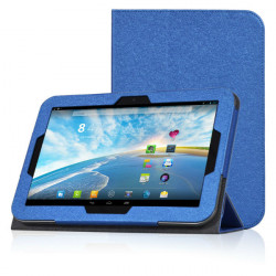Folding Stand PU Leather Case Cover For Toshiba AT10-AT01 Tablet