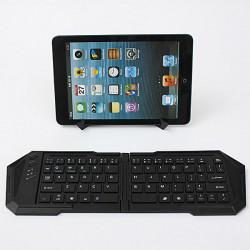 Faltung drahtlose Bluetooth Mini Keyboard + Halter für Tablet