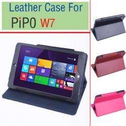 Folio PU Leder Etui Falte Standplatz Abdeckung für PIPO W7 Tablet