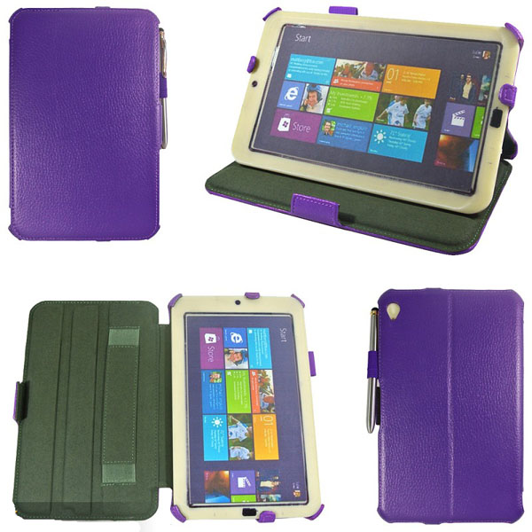 Folio PU Leather Folding Stand Case Cover For Acer W3 Tablet Accessories