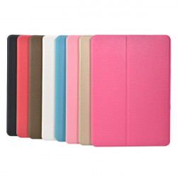 Folio Scrub PU Leather Case Cover For Samsung T520 Tablet