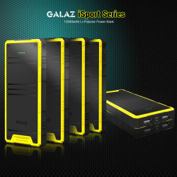 Galaz 12000mAh Outdoor PowerBank Laddare för iMobil iPad Surfplatta
