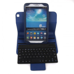 Leasun LS-BK310 Bluetooth Keyboard Stand PU Leather Case For Tablets