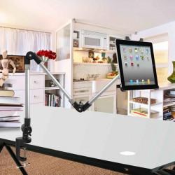 Multifunktionella Hållare Justerbar Ståbord Fästen för Surfplatta iPad