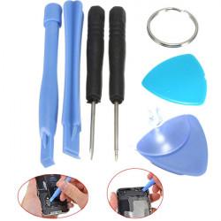 Portable 7 I 1 Skruvmejsel Reparation Öppnings Bänd Verktyg Set Kit för Surfplatta Mobiltelefon