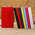 Pure Color PU Leather Stand Case Cover For Google Nexus 7 2nd Gen Tablet Accessories