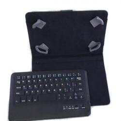 """Löstagbar Bluetooth Tangentbord Läderfodral för 7/8"""" Surfplatta"""