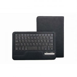 Removable Bluetooth PU Leather Keyboard Case For 7/8 Inch Tablet