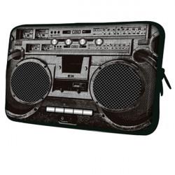 """Retro Radio Mönster Zipper Väska Sleeves för 7""""S Surfplatta iPad Mini"""